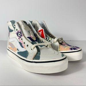Vans Sk8-Hi Zip Vintage Floral Sneakers